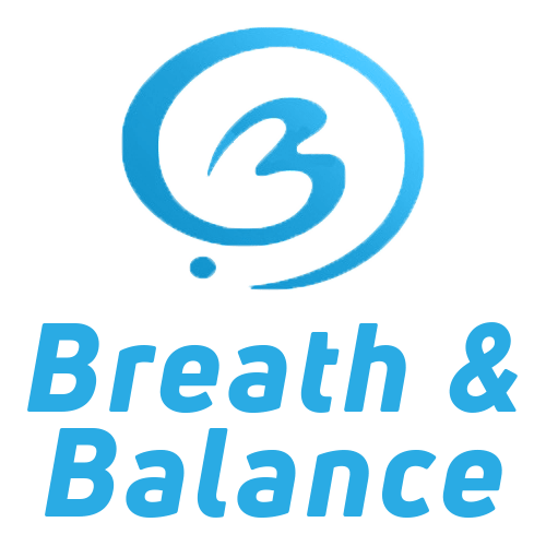 Breath and Balance Pilates Studio Logo In Horizontal Format